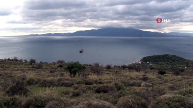 sahil guvenlik -  Ayvacık'a demir atan gemi, ekipleri harekete geçirdi
