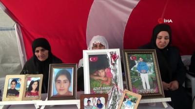 HDP önündeki annelerin evlat nöbeti 180'inci gününde
