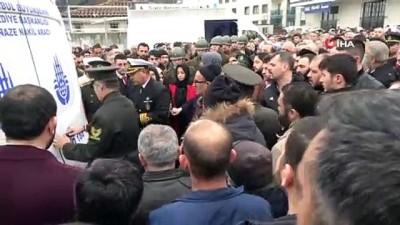İdlib'de şehit olan uzman çavuşun cenazesi helallik için evine getirildi