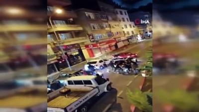 polis merkezi -  Ümraniye'de asker eğlencesi için yol kapatan magandalara ceza yağdı