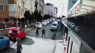 yerel secim -  Ümraniye'de muştalı dehşet kamerada