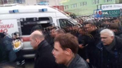 kalaba -  Bakan Soylu, çığ faciasında ölenlerin cenazesine katıldı
