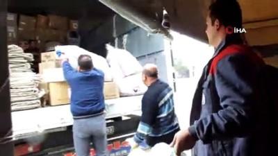 yardim kampanyasi -  Burhaniye'de deprem yardımları yola çıktı