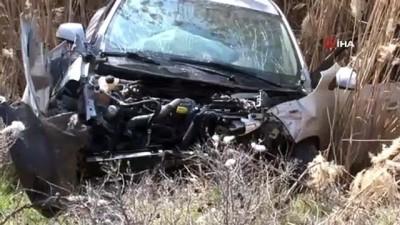 cakal -  Şanlıurfa'da minibüs ile otomobil çarpıştı: 2 yaralı