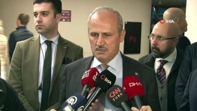 Bakan Turhan, uçak kazasında yaralanan vatandaşları hastanede ziyaret etti