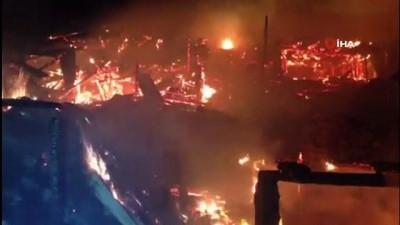 tahkikat -  Erzurum'daki yangın 4 saat sonra kontrol altına alındı