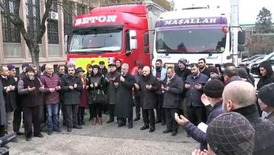 yardim kampanyasi -  Eskişehir'den depremzedelere iki tır yardım malzemesi gönderildi
