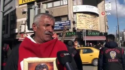 guvenlik gucleri -  Diyarbakır'dan sonra evlat nöbetini İzmir'de sürdürüyor