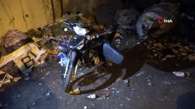 Kavga ihbarına giden polis, hırsızlık şebekesini çökertti