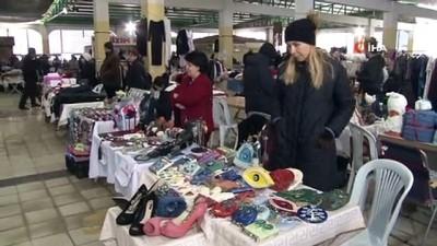 yardim kampanyasi -  İzmir'de 200 kadın depremzedeler için el emeklerini satışa sundu