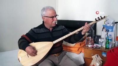 baglama -  TRT sanatçısı Kazım Alkar 11 yıldır otel odasında yaşıyor