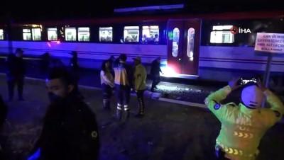 Kütahya'da yolcu treninin çarptığı yaşlı adam hayatını kaybetti