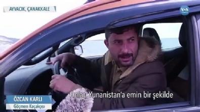 Ropörtaj veren insan kaçakçısı tutuklandı