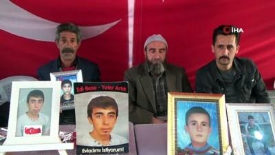 dag kecisi -  HDP önündeki ailelerin evlat nöbeti 190'ıncı gününde