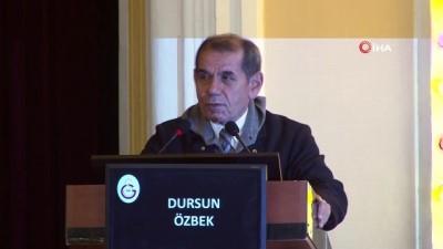 Dursun Özbek: ''Dursun Özbek hisseleri sattı' sloganını söyleyebilmek için bunu yaptılar'