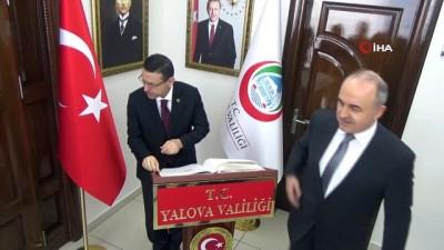 Sayıştay Başkanı Baş, Yalova Valisi Muammer Erol'u makamında ziyaret etti
