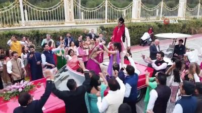 Hintliler salgın dinlemedi, 1 milyon Avro bütçeli düğün için Antalya'da buluştu