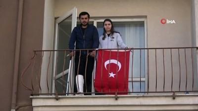 hava saldirisi -  İdlib gazisi Uzm Çvş Aşkın Karabaş iyileşip görevine dönmeyi dört gözle bekliyor