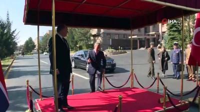askeri toren -  Milli Savunma Bakanı Akar İngiliz mevkidaşı ile görüştü