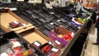 supermarket - İsviçre'de koronavirüs paniği devam ediyor - CENEVRE
