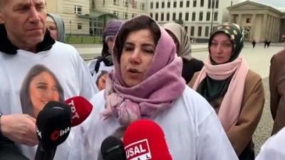 meyra - PKK tarafından kızı kaçırılan Maide T: 'Kızım gelene kadar eylemim devam edecek' - BERLİN