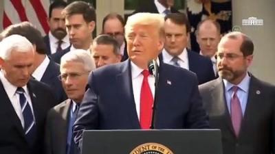 Trump, Kovid-19 nedeniyle 'ulusal acil durum' ilan etti