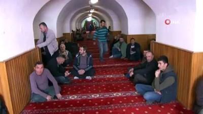 Yeraltı Camii cuma namazı öncesi dezenfekte edildi