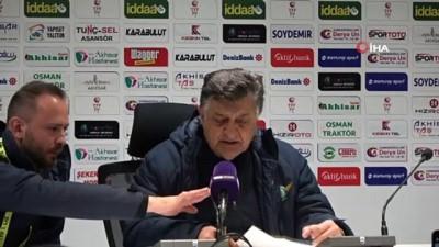 Akhisarspor - Büyükşehir Belediye Erzurumspor maçının ardından -1-