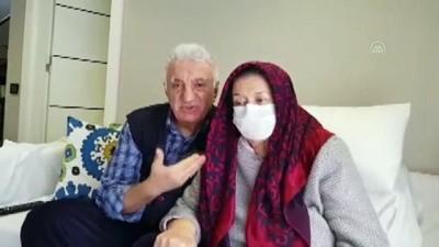 50 yıllık eşini böbreğiyle hayata bağladı - ANTALYA