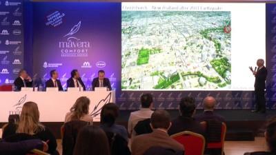 Türkiye'nin deprem izolatörlü ilk konut projesi tanıtıldı