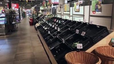 supermarket -  - Almanya tedbirleri sıkılaştırdı - Eczane ve süpermarket dışındaki tüm dükkanlar kapatılıyor