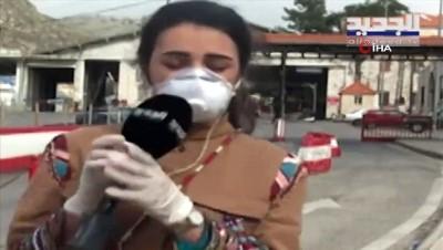 - Lübnanlı muhabir canlı yayında bayıldı - Muhabirin korona olduğu iddiası yalanlandı