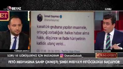 Osman Gökçek, İsmail Saymaz'ı yerin dibine soktu