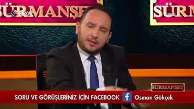Osman Gökçek, Levent Üzümcü'ye canlı yayında cevap verdi