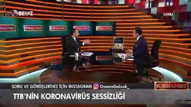 Osman Gökçek; 'TTB siyasi bir köşede duruyor'