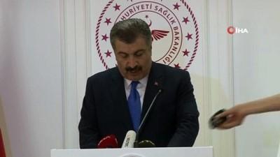 Sağlık Bakanı Koca: 'Bu gece korona virüsle mücadelemizde ilk kez bir hastamı kaybettim'