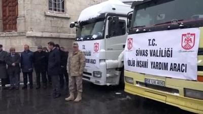 idlib - Sivas'tan İdlib'e un yardımı