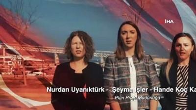 Belediye personeli Çanakkale türküsünü hep birlikte seslendirdi