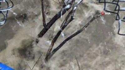 Beytüşşebap'ta yoğun  kar yağışı