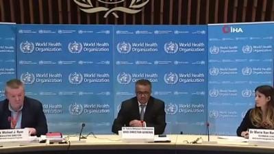 - Dünya Sağlık Örgütü: 'Aşı denemeleri başlatıldı'