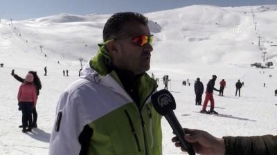 kis turizmi - Hakkari Kayak Merkezi 3,5 ayda 50 bin ziyaretçiyi ağırladı