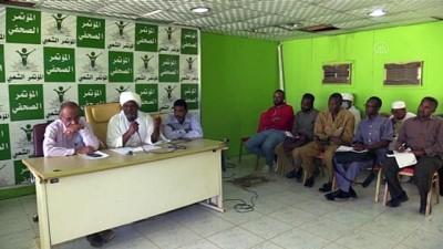 Sudan Halk Kongresi Partisi, gözaltındaki liderlerinin serbest bırakılmasını talep etti - HARTUM