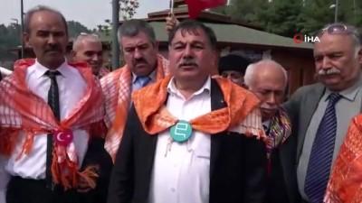 idlib -  Yörük dernekleri Yayladağı sınır kapısında Mehmetçiğe destek verdi