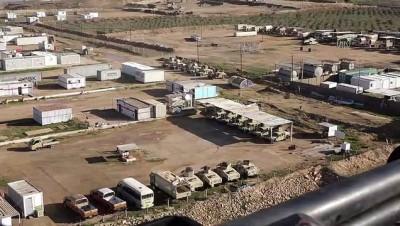 askeri toren - ABD'nin boşalttığı Kaim Askeri Üssü'nde kontrol Irak askerlerine geçti - BAĞDAT