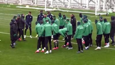 Konyaspor'da Gençlerbirliği maçı hazırlıkları - KONYA