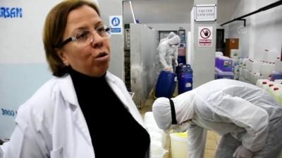 ozel sektor - Tekirdağ'da lise öğrencileri 'dezenfektan' mesaisinde - TEKİRDAĞ