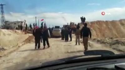 - İdlib halkından Türk askerlerine destek