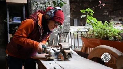 etnik koken - (Gelecek 100 Yılın Habercileri) 5 asırlık Kurşunlu Han zanaat ile sanatı buluşturuyor - İSTANBUL