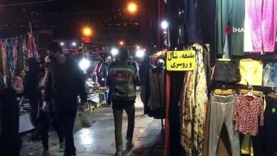 - İran'da tüm uyarılara rağmen halk sokağa çıkmaya devam ediyor