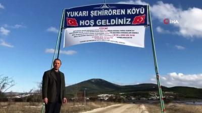 isaf -  Köy Muhtarından 14 günlük karantina tedbiri